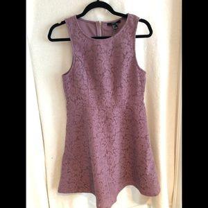 Dusty Lavender Lace Dress